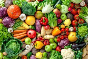 การบริโภคผักและผลไม้ที่มีประโยชน์